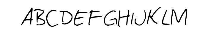 ComicJans Font UPPERCASE