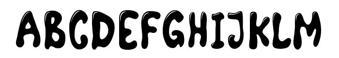 ComicLandHighlight Font UPPERCASE