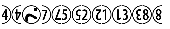 ComicNumerals Font OTHER CHARS