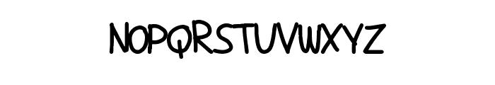 ComicTans Font LOWERCASE