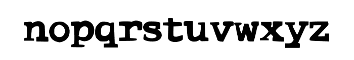 ComicType Font LOWERCASE