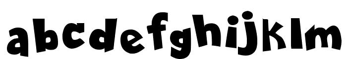 Comica BD Bold Font LOWERCASE