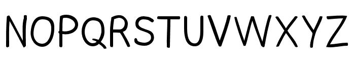 Comica Regular Font UPPERCASE