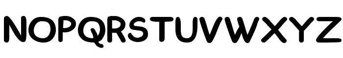 ComickBook Simple Font UPPERCASE