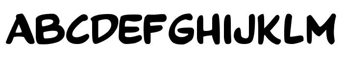 Comics Tricks Font UPPERCASE