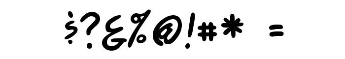 ComicsCarToon Regular Font OTHER CHARS
