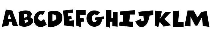 ComicsCarToon Regular Font UPPERCASE