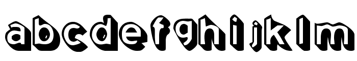 Coming Soon Font LOWERCASE