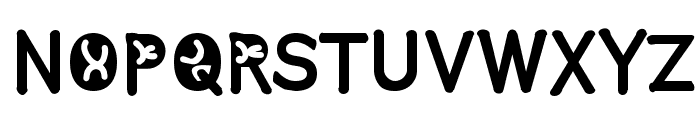 Comistain Font UPPERCASE