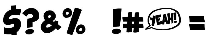 Comix Loud Font OTHER CHARS