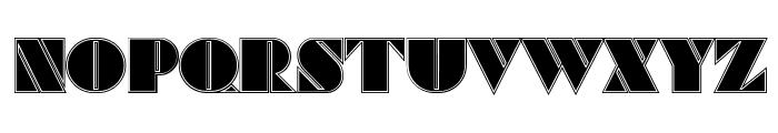 Commanders Outlined Regular Font UPPERCASE