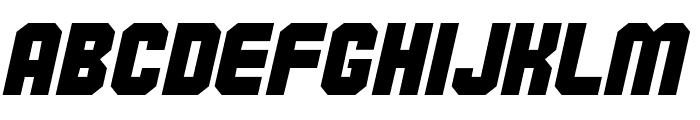 Commando Font LOWERCASE
