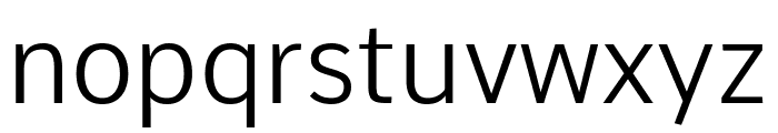 Comme Light Font LOWERCASE