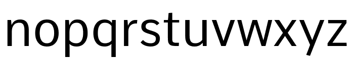 Comme Font LOWERCASE