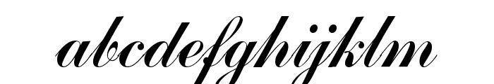 CommercialScript Regular Font LOWERCASE