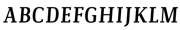 Communist Italic Font UPPERCASE