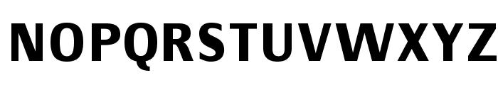 Communist SansBold Font UPPERCASE