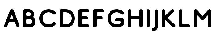 Comodo Free Regular Font UPPERCASE