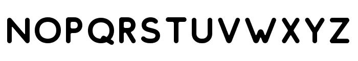 ComodoFree-Regular Font UPPERCASE