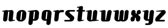 Comonsexbold Font LOWERCASE