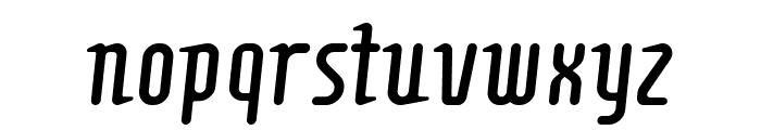 Comonslight Font LOWERCASE