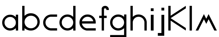 Competent Font LOWERCASE