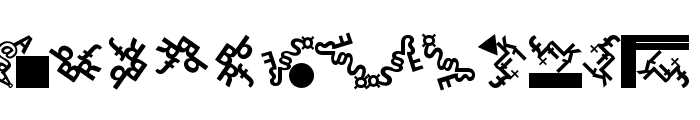 CompositLetters Font UPPERCASE