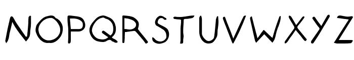 Composition Font UPPERCASE