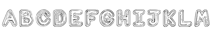 Computer Love Regular Font UPPERCASE