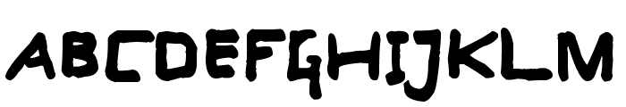Computer's Heart Font UPPERCASE