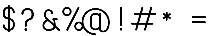 Cona Regular Font OTHER CHARS