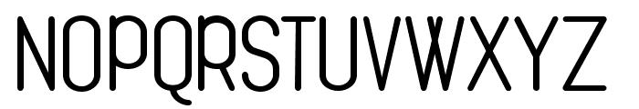 Cona Regular Font UPPERCASE