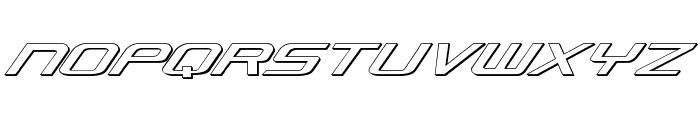 Concielian Classic 3D Font UPPERCASE