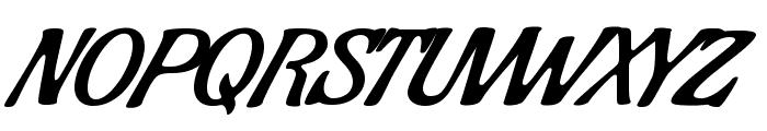 Condiment Font UPPERCASE