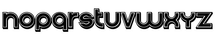 Condition 3d Filled Regular Font UPPERCASE
