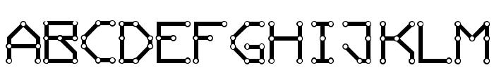 ConductingPaths Font LOWERCASE