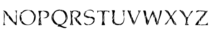Cone Of Silence Font LOWERCASE