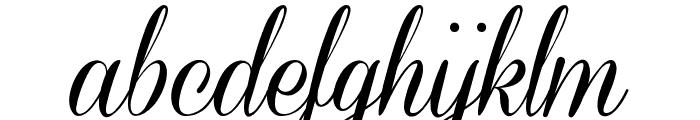 Coneria Script Demo Font LOWERCASE