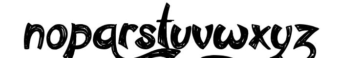 Confetti Stream Font LOWERCASE