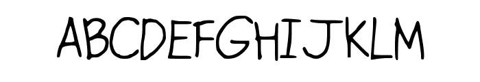 ConfettiFalling Font UPPERCASE
