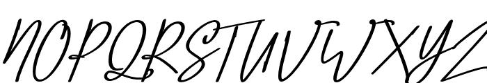 Confidante Font UPPERCASE