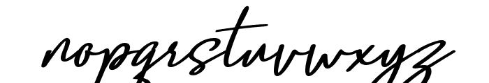 Confidante Font LOWERCASE