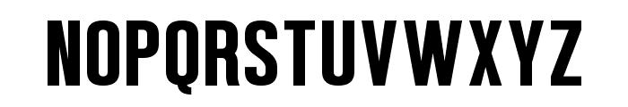 Confidel Font UPPERCASE