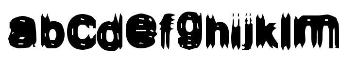 Configuration 9 Font LOWERCASE