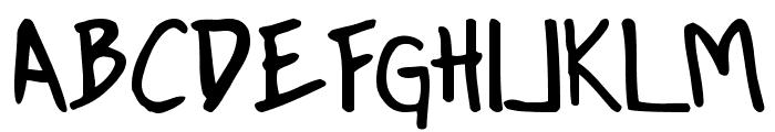 Conformity Normal Font UPPERCASE