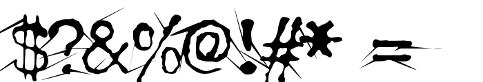 Confused Root Font OTHER CHARS