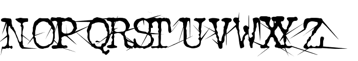 Confused Root Font UPPERCASE