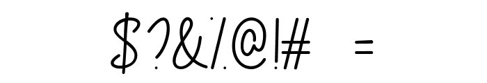 Congrats Script Font OTHER CHARS
