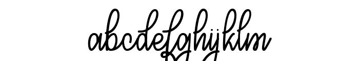 Congrats Script Font LOWERCASE