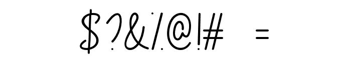 CongratsScript Font OTHER CHARS